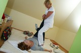 Massagem shiatsu na Saúde