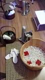Óleo para massagem relaxante na Sé